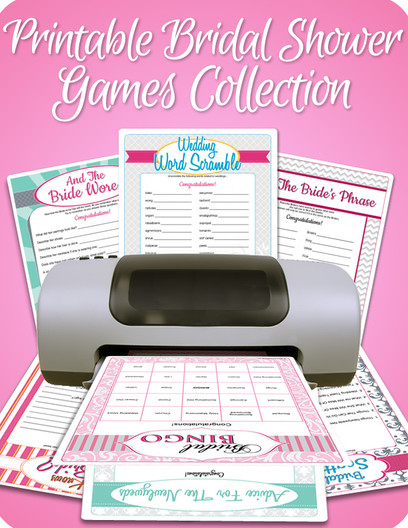 Deluxe Bridal Shower Games Kit Bridal Shower Games Com